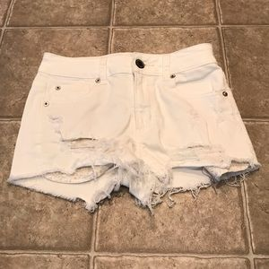 American eagle denim shorts 0